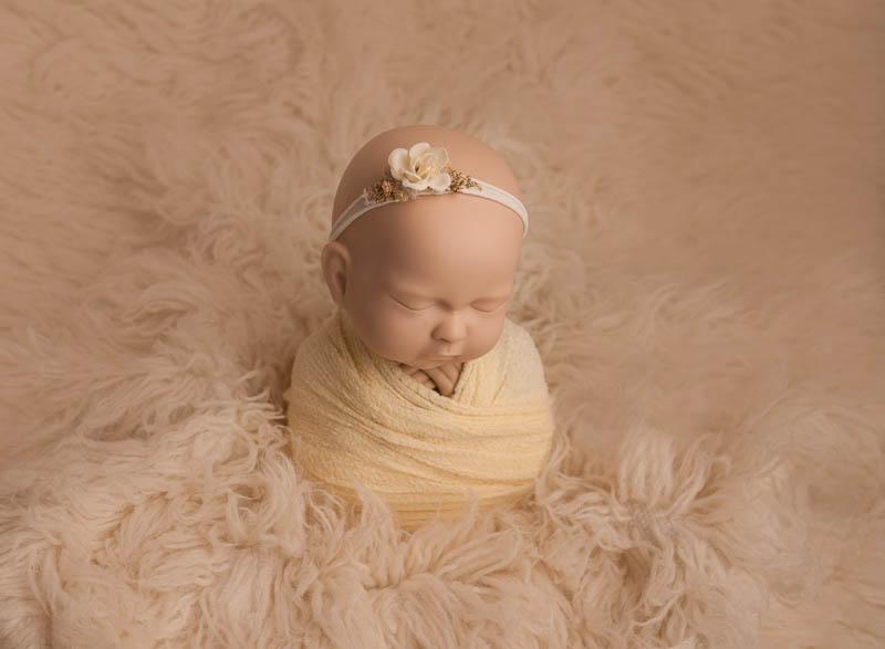 Learn newborn photography with StandInBaby