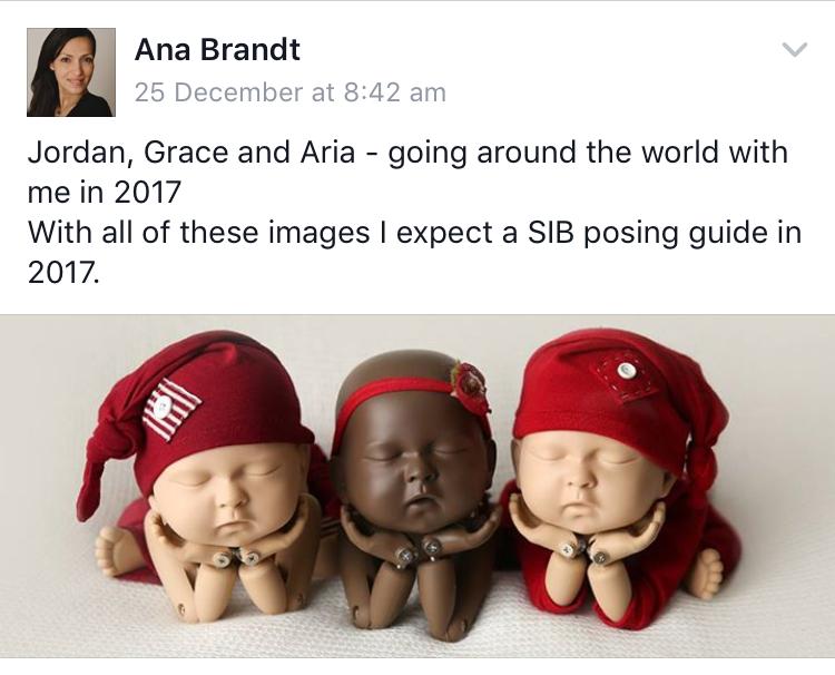 Ana Brandt newborn photographer from the USA