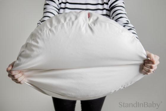 Newborn Photography posing beanbag