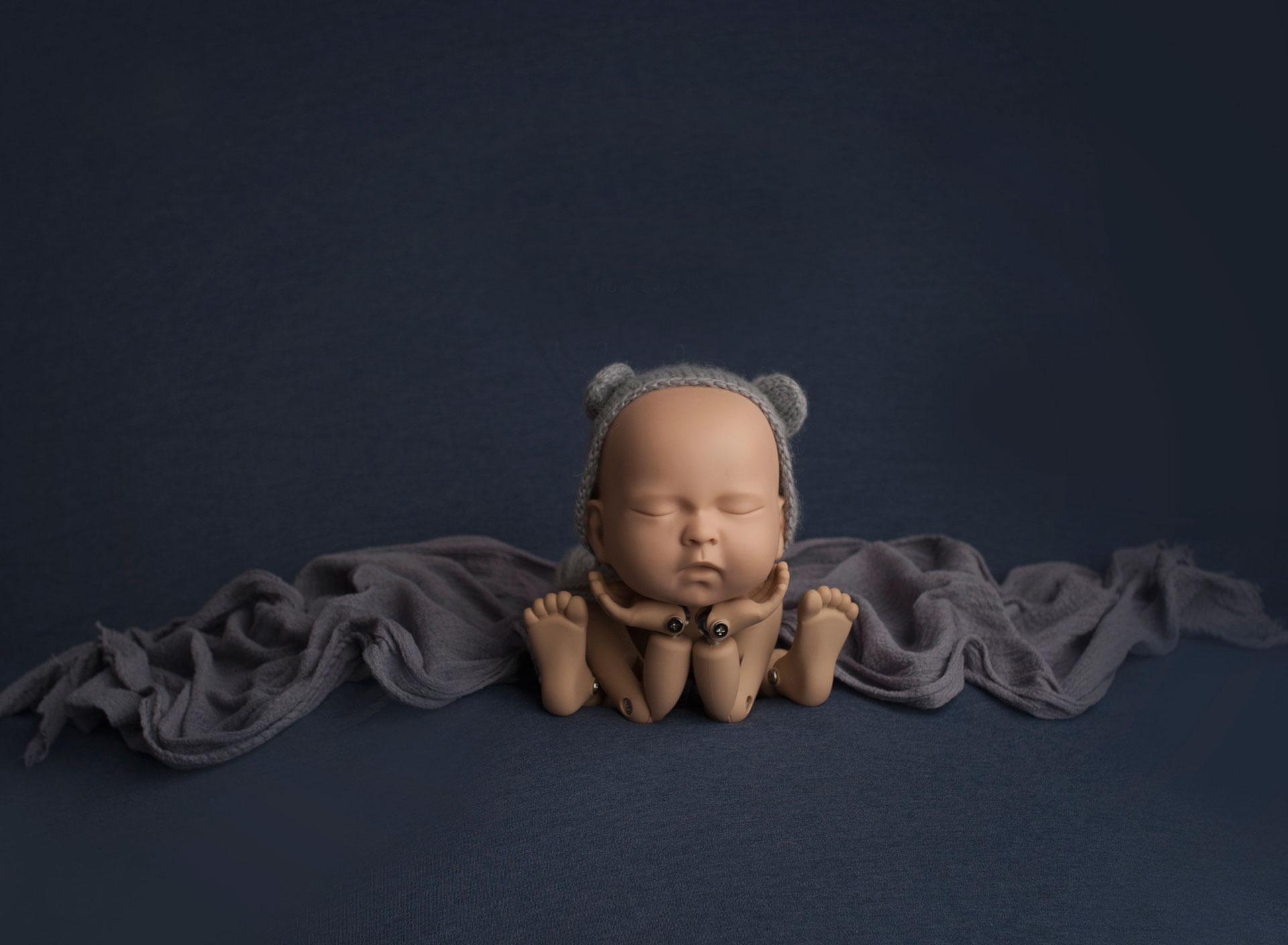 StandInBaby photography doll